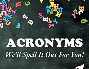 Acronyms for the Housing Industry