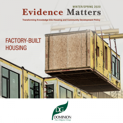 D3G Evidence Matters Industrial Housing Article