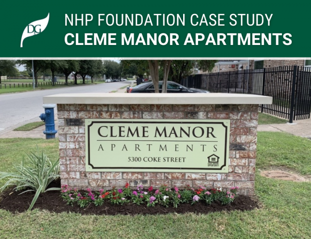nhp foundation case study cleme manor
